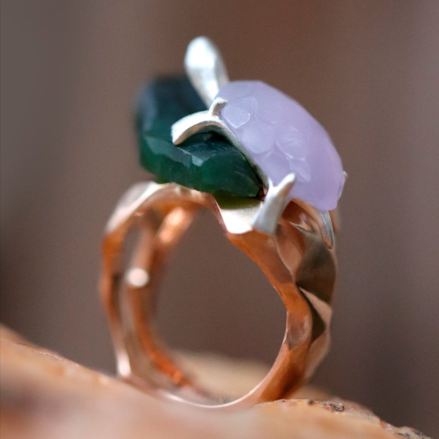 Anne Laure Sacriste - « Kamé » or the turtle ring