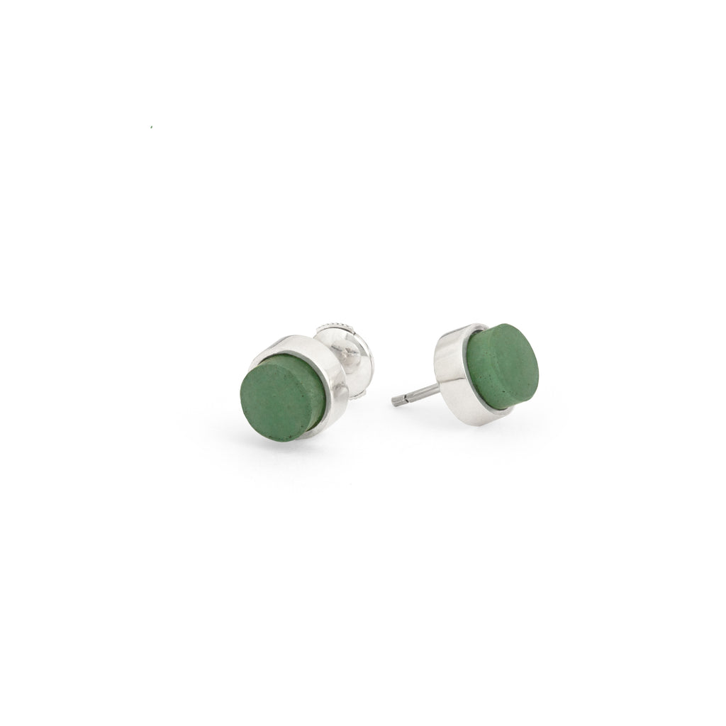 TUBE Earrings - Aventurine