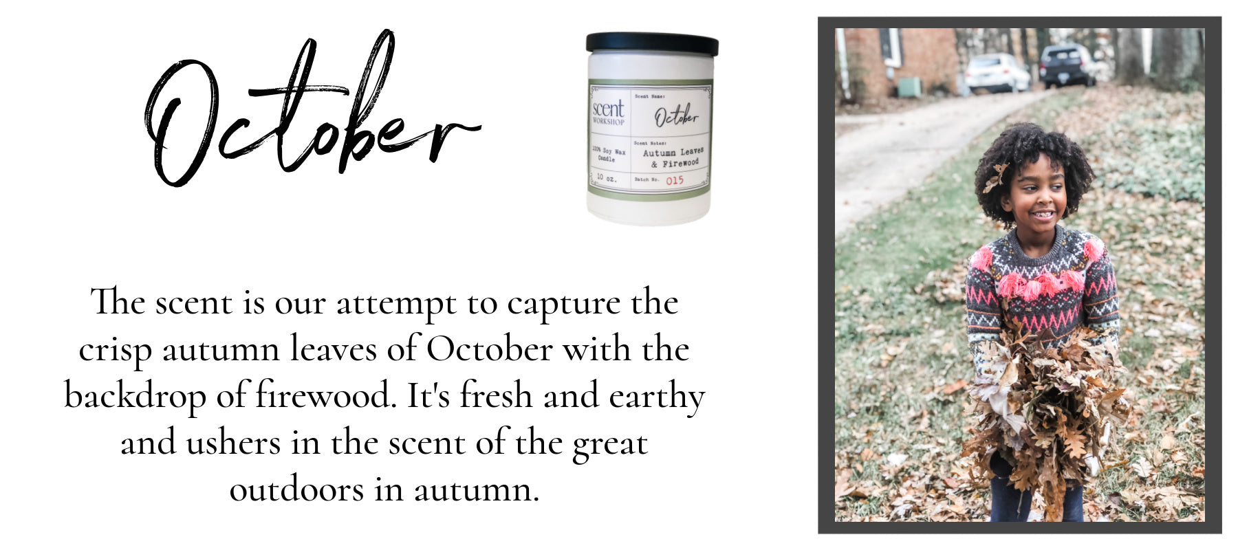 October Candle