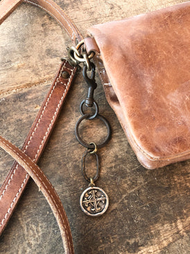 Serenity Prayer Key Ring/Purse Clip