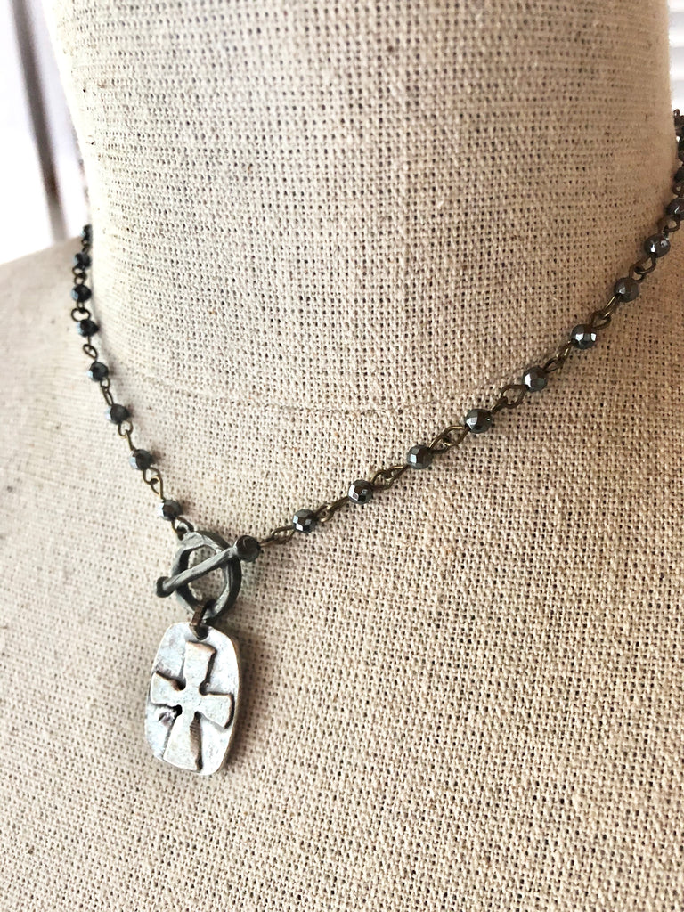 Soul Shine Cross Necklace