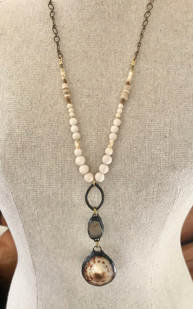 Funky Boho Shell Necklace