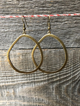 Funky Imperfection Drop Earrings