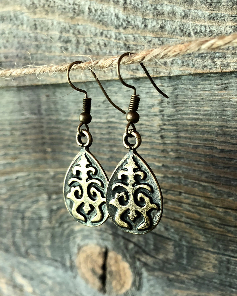 funky filigree earrings funky trunk vintage designs