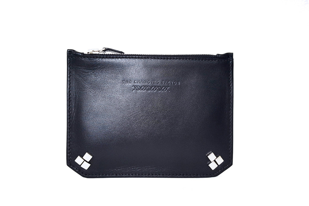 Alien Uber Mini Studded Geometric Pouch / Cross-Body Bag