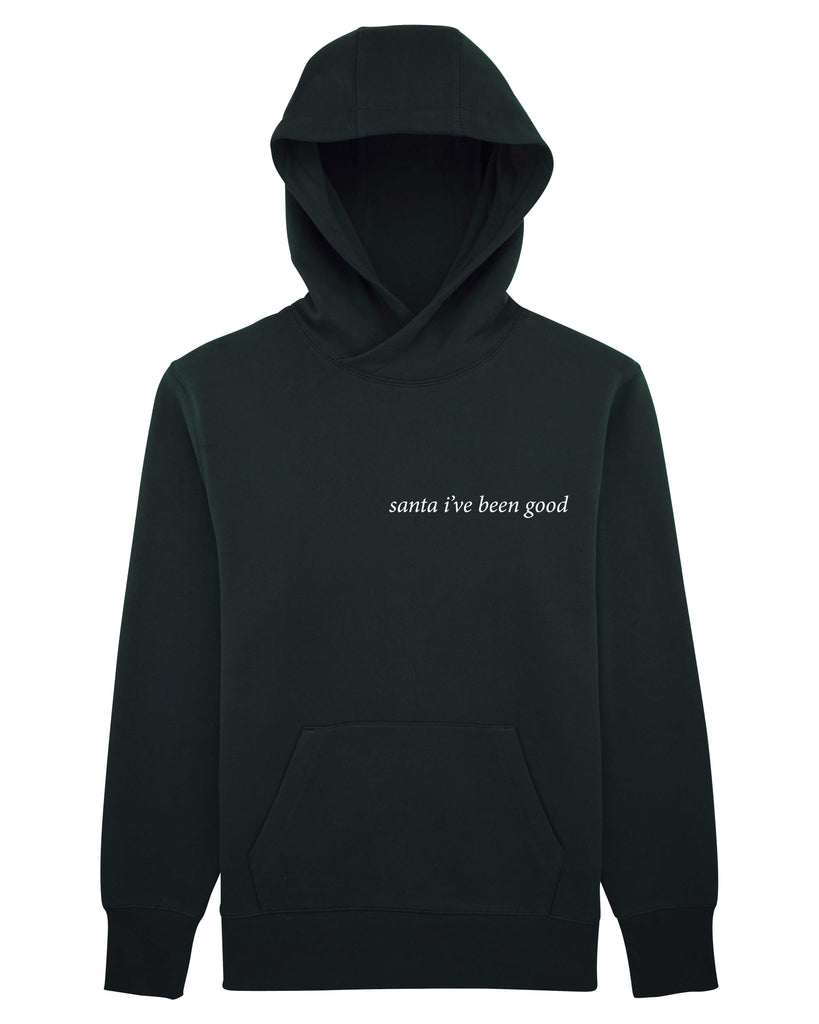 santa I've been good Unisex Hoodie with Pocket