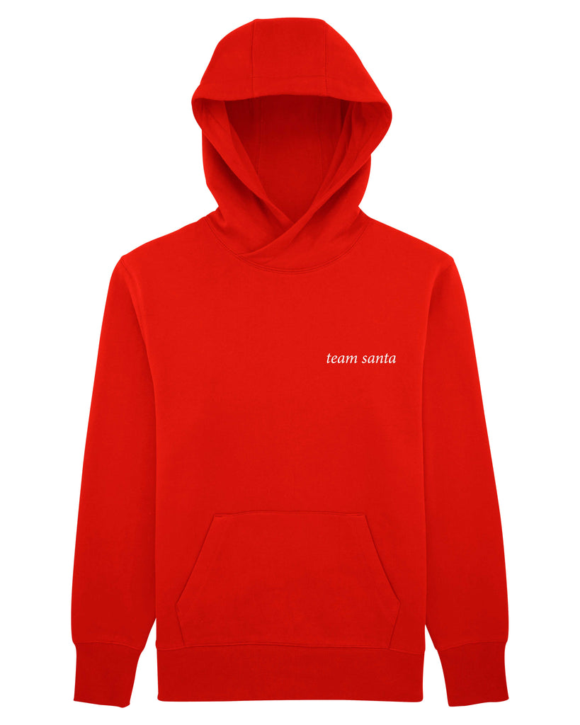 team Santa Unisex Hoodie with Pocket