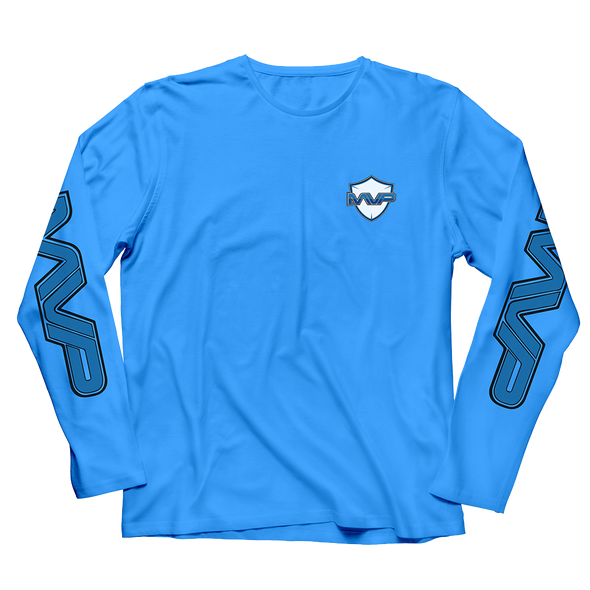 MVP LONGSLEEVE T-SHIRT - BLUE - MVP Global Store