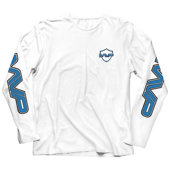 MVP LONGSLEEVE T-SHIRT - WHITE - MVP Global Store