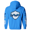 MVP ZIP HOODIE - BLUE - MVP Global Store