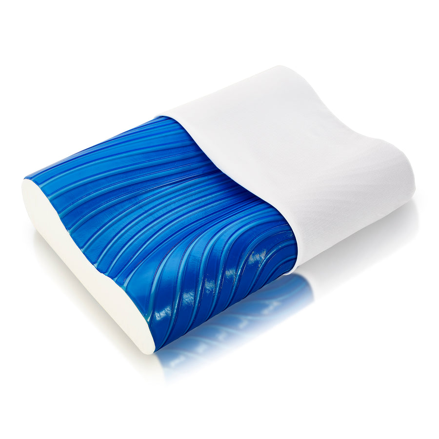 Arctic Gel Pillow with Cover Unzipped