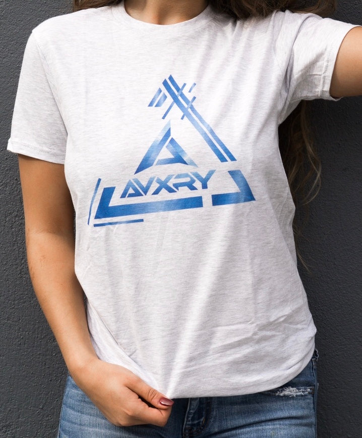 Triangle Tee - White
