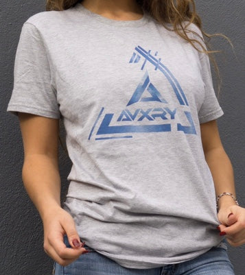 Triangle Tee - Grey