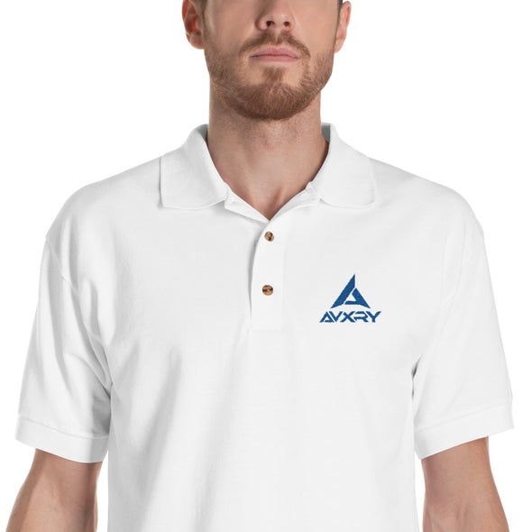Avxry Embroidered Polo