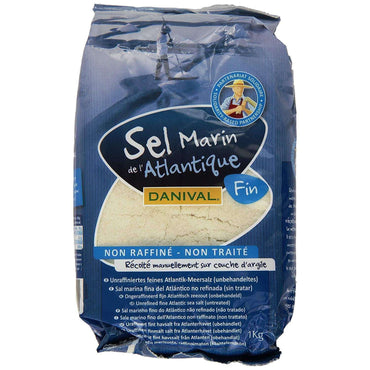 Danival Fine Sea Salt - Unrefined - 1kg