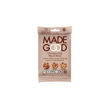 Made Good Granola Minis Choc Chip 24g (Pack of 12)