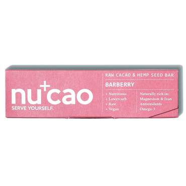 Nucao Chocolate - Wild Berry 40g (Pack of 12)