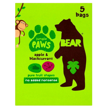 BEAR Paws Apple & Blackcurrant 20g (Pack of 18)