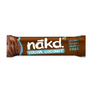 NakdCocoa Coconut 35g Bar (Pack of 18)