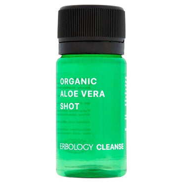Erbology Organic Aloe Vera Shot 40ml (Pack of 2)