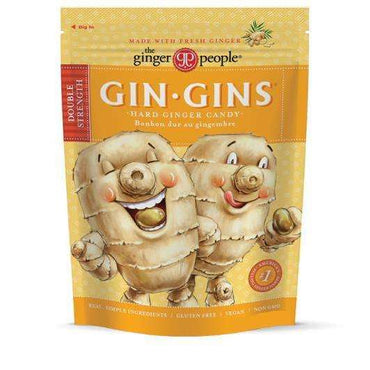 The Ginger People TGP Gin Gin Hard Candy 150gm Bag (Pack of 3)