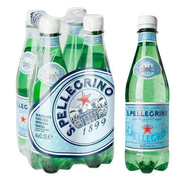 San Pellegrino Natural Mineral Water Sparkling 500ml (Pack of 24)