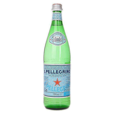 San Pellegrino Natural Mineral Water Sparkling 750ml (Pack of 12)