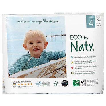 Nature Baby Nappy Pants Maxi Size 4 (18-33lbs) 22s