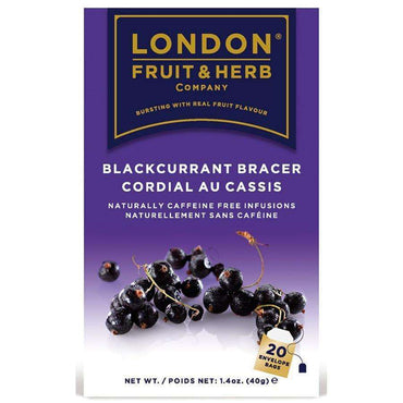 London Fruit & Herbal Blackcurrant Bracer Tea - 20 Bags