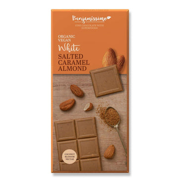 Benjamissimo Salted Caramel Almond / White 70g (Pack of 5)