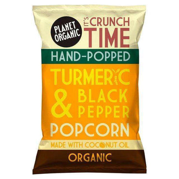 Planet Organic Turmeric & Black Pepper Popcorn 20g (Pack of 5)