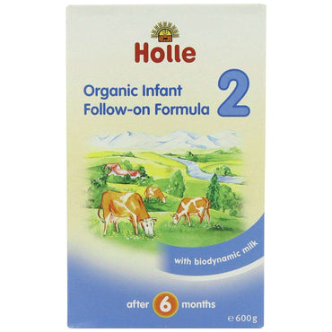 Holle Organic Infant Follow-On Formula 2 - 600g