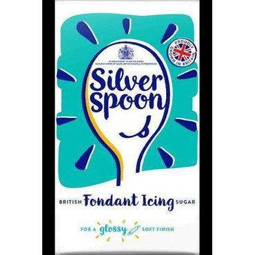 Silver Spoon Fondant Icing - 500g (Pack of 10)
