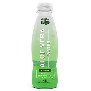 Simplee Aloe Aloe Vera Water With Pulp 500ml (Pack of 6)