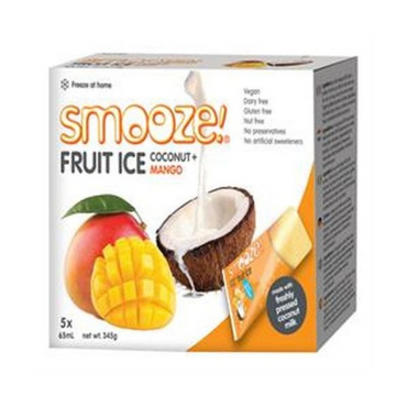 Smooze Mango Fruit Ice 345g (Pack of 6)