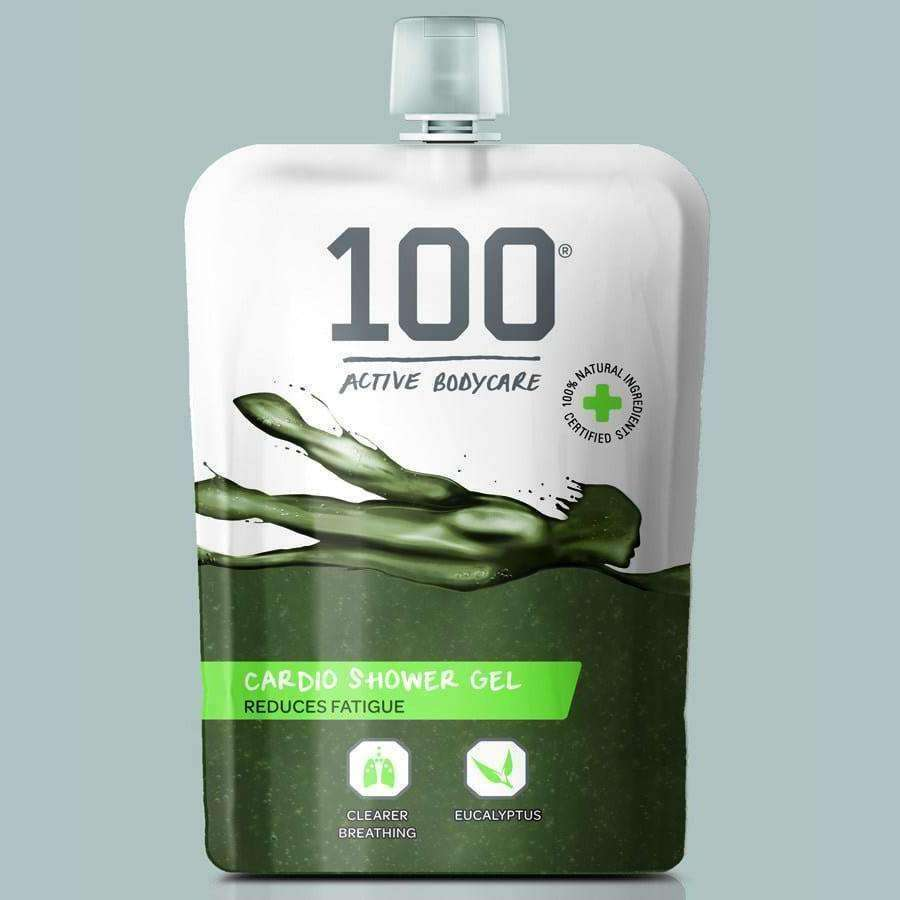 100 Body Care Cardio Shower Gel - 200ml (Pack of 6)
