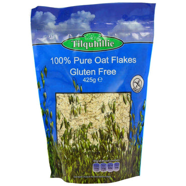 Tilquhillie 100% Pure Oat Flakes 425g (Pack of 5)