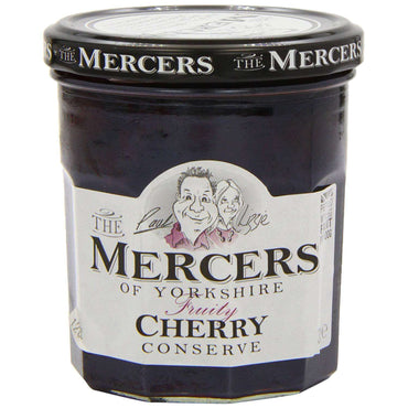 Mercers Cherry Conserve - 340g (Pack of 6)