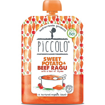 Piccolo Sweet Potato & Beef Ragu with Thyme 130g (Pack of 7)