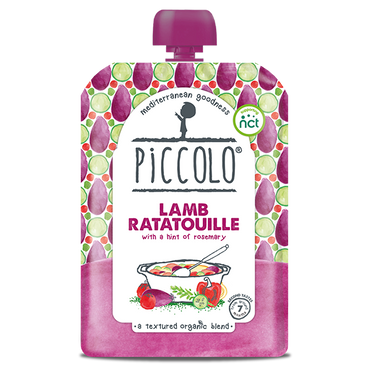 Piccolo Lamb Ratatouille with Rosemary 130g (Pack of 7)