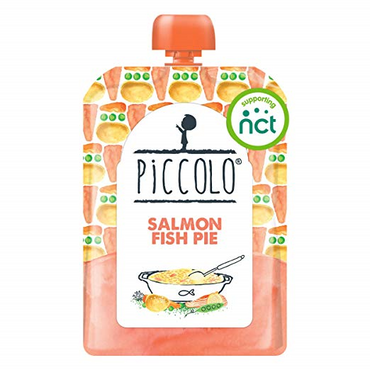 Piccolo Salmon Fish Pie Stage 2 130g (Pack of 7)