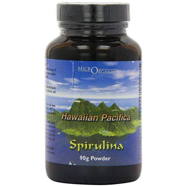 Microrganics Hawaiian Spirulina Powder Glass 90g