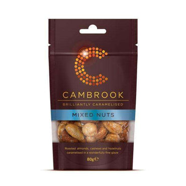 Cambrook Caramelised Mixed Nuts - 80g (Pack of 18)