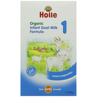Holle Infant Goat Milk Formula 1 (from birth) - 400g
