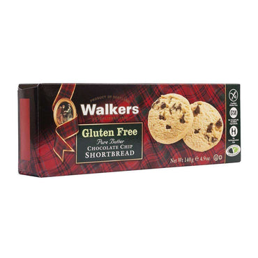 Walkers Gluten Free Choc Chip Shortbread - 140g