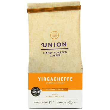 Union Coffee Yirgacheffe Organic Ethiopia Ground 200g