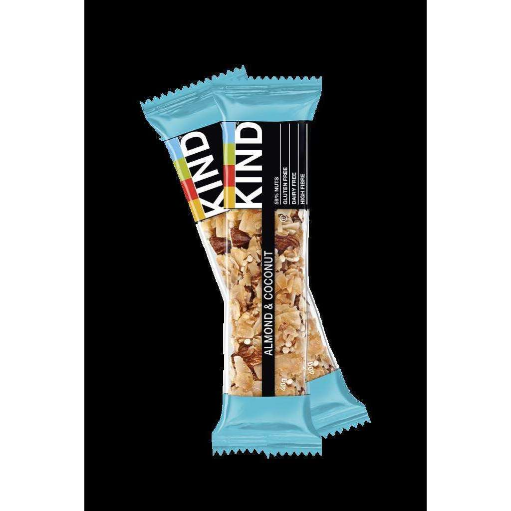 Kind Almond & Coconut Bar - 40g (Pack of 12)