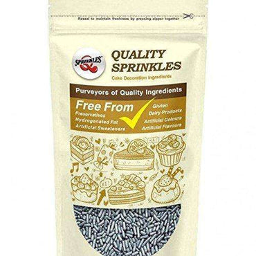 Quality Sprinkles Silver Sugar Strands 65g