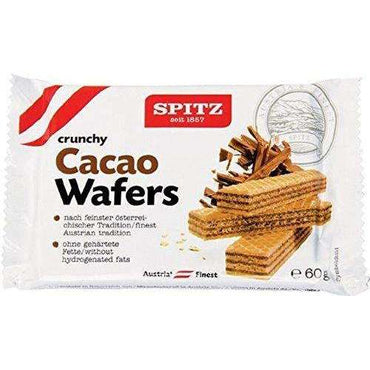 Spitz Cacao Wafer - 60g (Pack of 18)