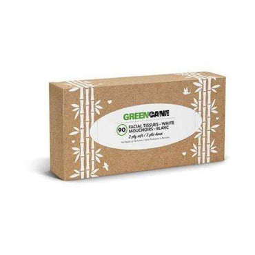 Greencane Paper 2Ply Facial Tissues Single